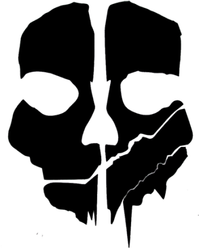 Cod ghosts logo clipart clipart black and white stock Free PNG images - DLPNG.com clipart black and white stock