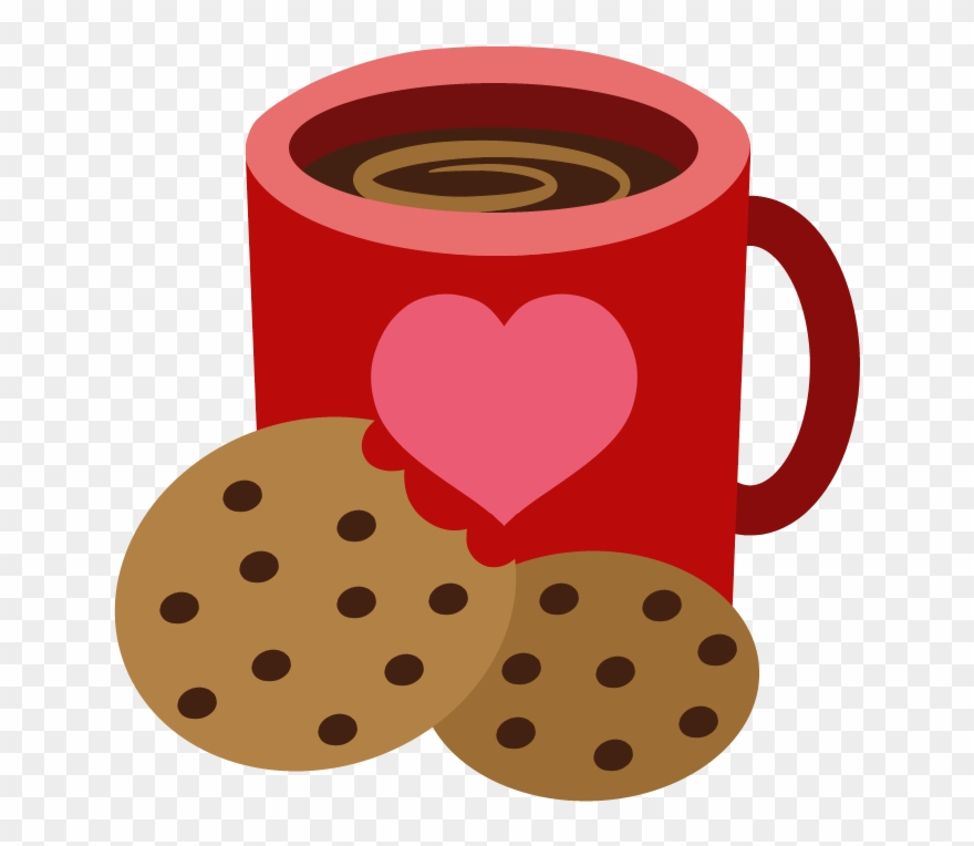Coffee and cookies clipart vector freeuse stock Mug Clipart Coffee Biscuit - Cookie Cutie Mark - Png ... vector freeuse stock