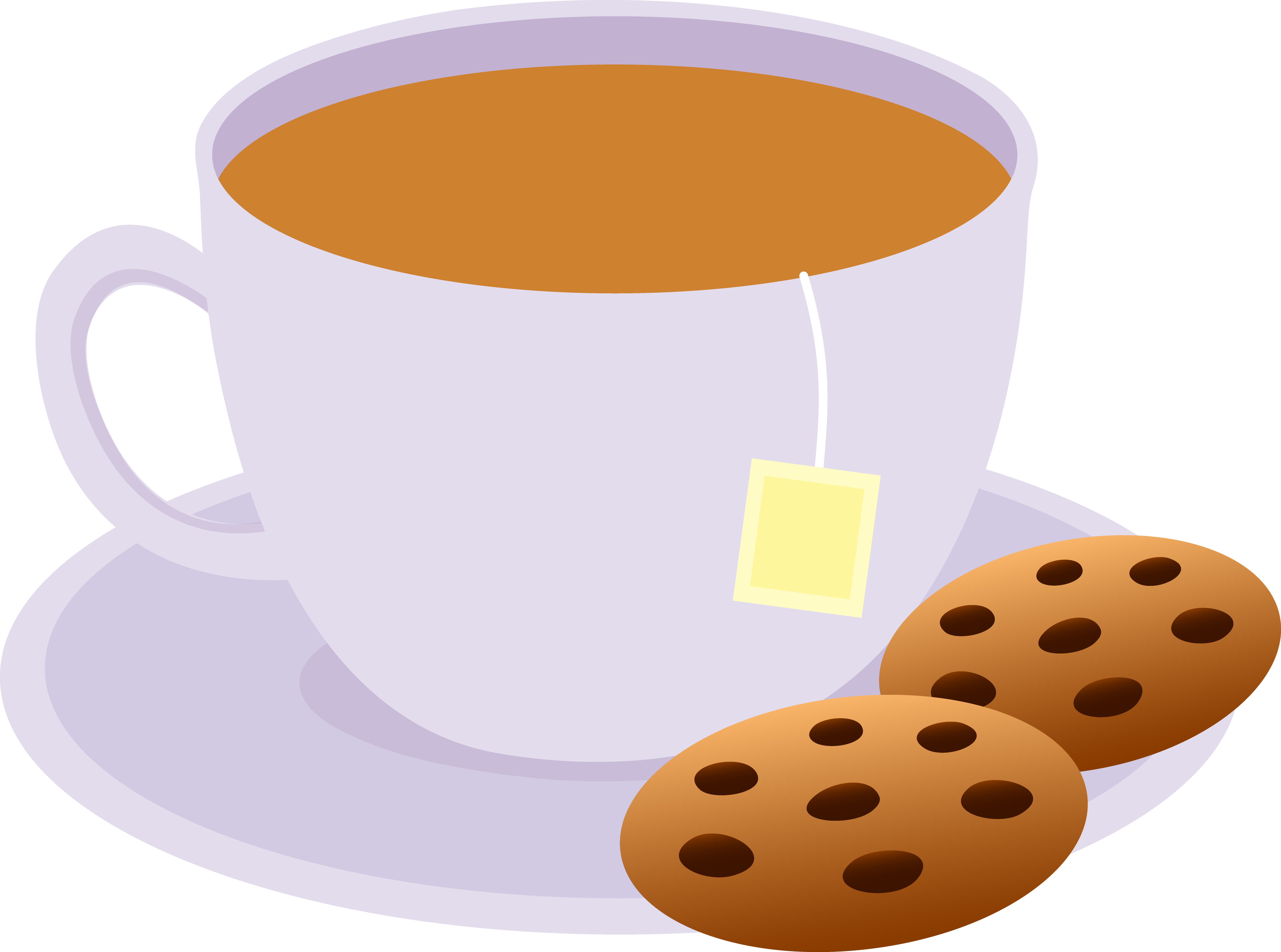 Coffee and cookies clipart clipart free stock Clipart Of Evening, Tea And Cookies - Coffee Cup ... clipart free stock