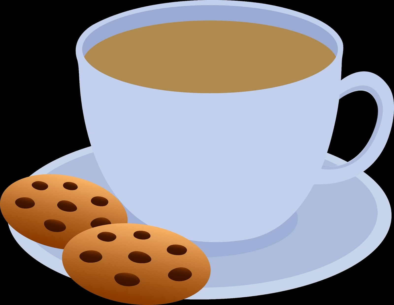 Coffee and cookies clipart png black and white library Free Cookie Coffee Cliparts, Download Free Clip Art, Free ... png black and white library