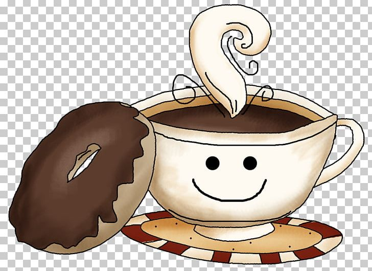 Coffee and doughnuts clipart png freeuse download Coffee And Doughnuts Dunkin\' Donuts PNG, Clipart, Burr Mill ... png freeuse download