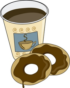 Coffee and doughnuts clipart royalty free download Coffee And Donuts Clipart   Clipart Panda - Free Clipart Images royalty free download