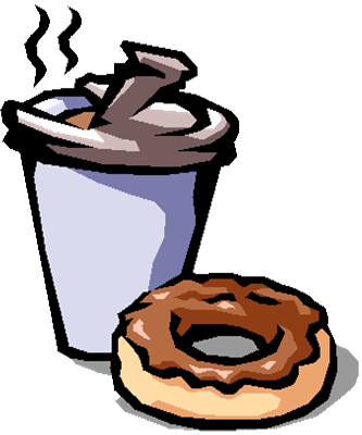 Coffee and doughnuts clipart image transparent stock Coffee and doughnuts clipart clipart images gallery for free ... image transparent stock