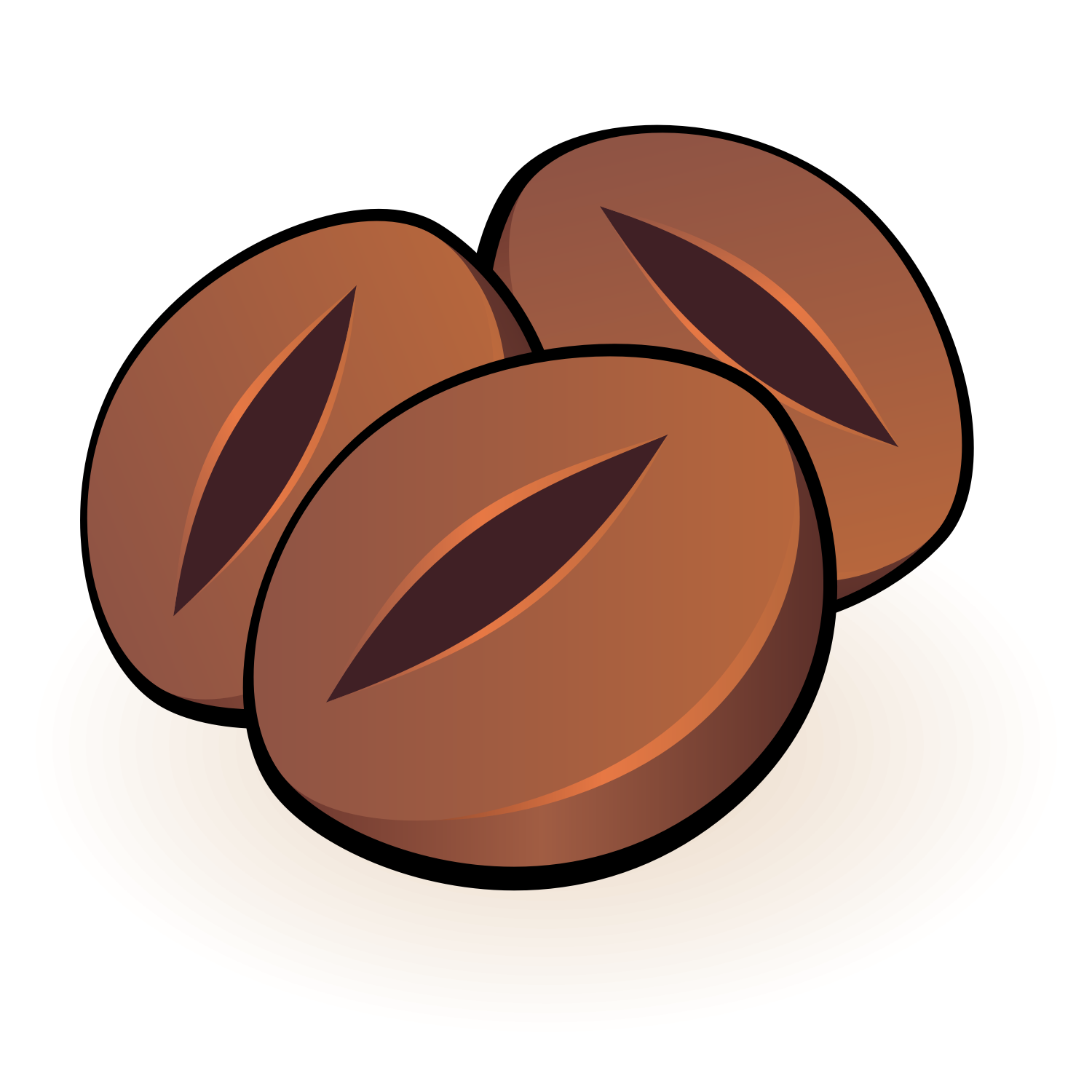 Coffee bean vector clipart clip library stock Coffee Bean Vector Png , (+) Pictures - trzcacak.rs clip library stock