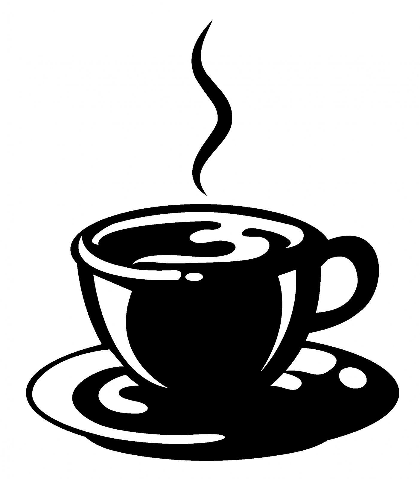 Coffee clipart black and white jpg transparent download Coffee Clipart Black And White | Free download best Coffee Clipart ... jpg transparent download