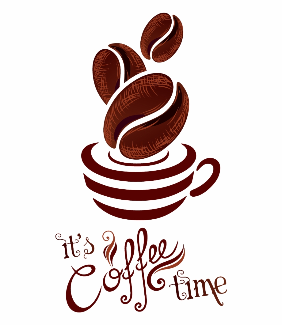 Coffee clipart logo picture transparent Coffee Logo Png Clipart - It\'s Coffee Time Free PNG Images & Clipart ... picture transparent