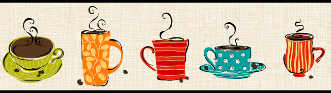 Coffee cup border clipart png 44+] Coffee Cup Wallpaper Borders on WallpaperSafari png