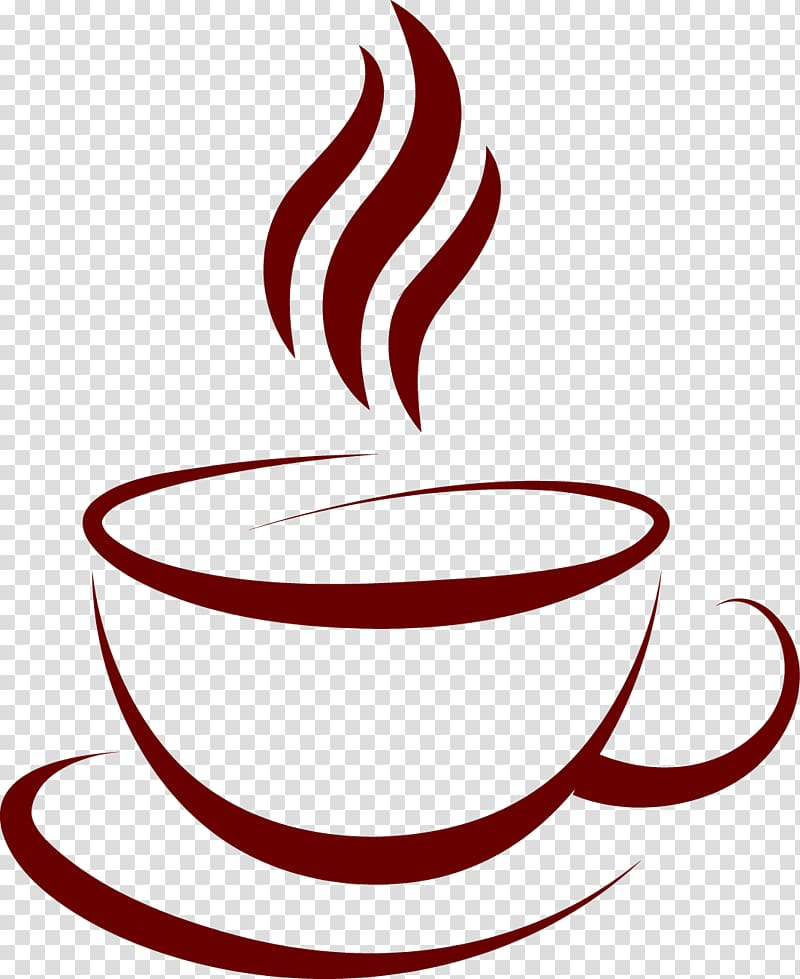 Coffee cup logo clipart picture transparent download Coffee cup Cafe, Coffee label material, Java logo ... picture transparent download