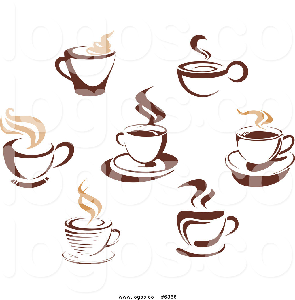 Coffee cup logo clipart graphic royalty free Royalty Free Clip Art Vector Logos of Steamy Brown Coffee ... graphic royalty free