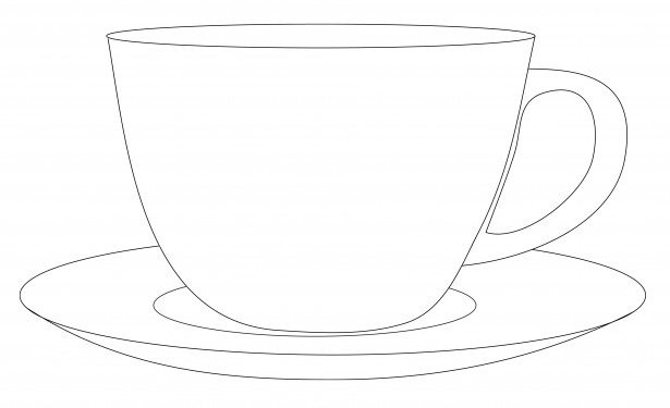Free Saucer Cliparts, Download Free Clip Art, Free Clip Art ... graphic free