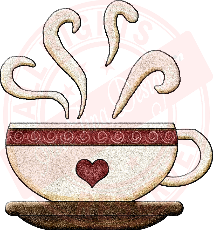 Coffee cup with heart clipart jpg transparent download Coffee Time Heart Cup [coffee02] - $0.59 : SweeTina Designs ... jpg transparent download