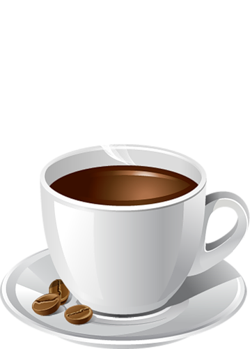 Coffee espresso clipart png black and white stock Espresso Coffee Cup PNG Picture | Gallery Yopriceville - High ... png black and white stock