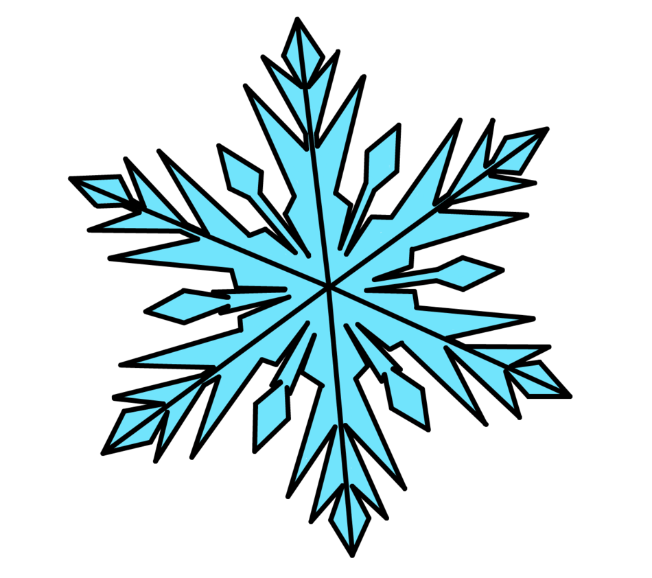 Snowflake clipart frozen png black and white stock elsa snowflake template - Google Search | Frozen | Pinterest ... png black and white stock