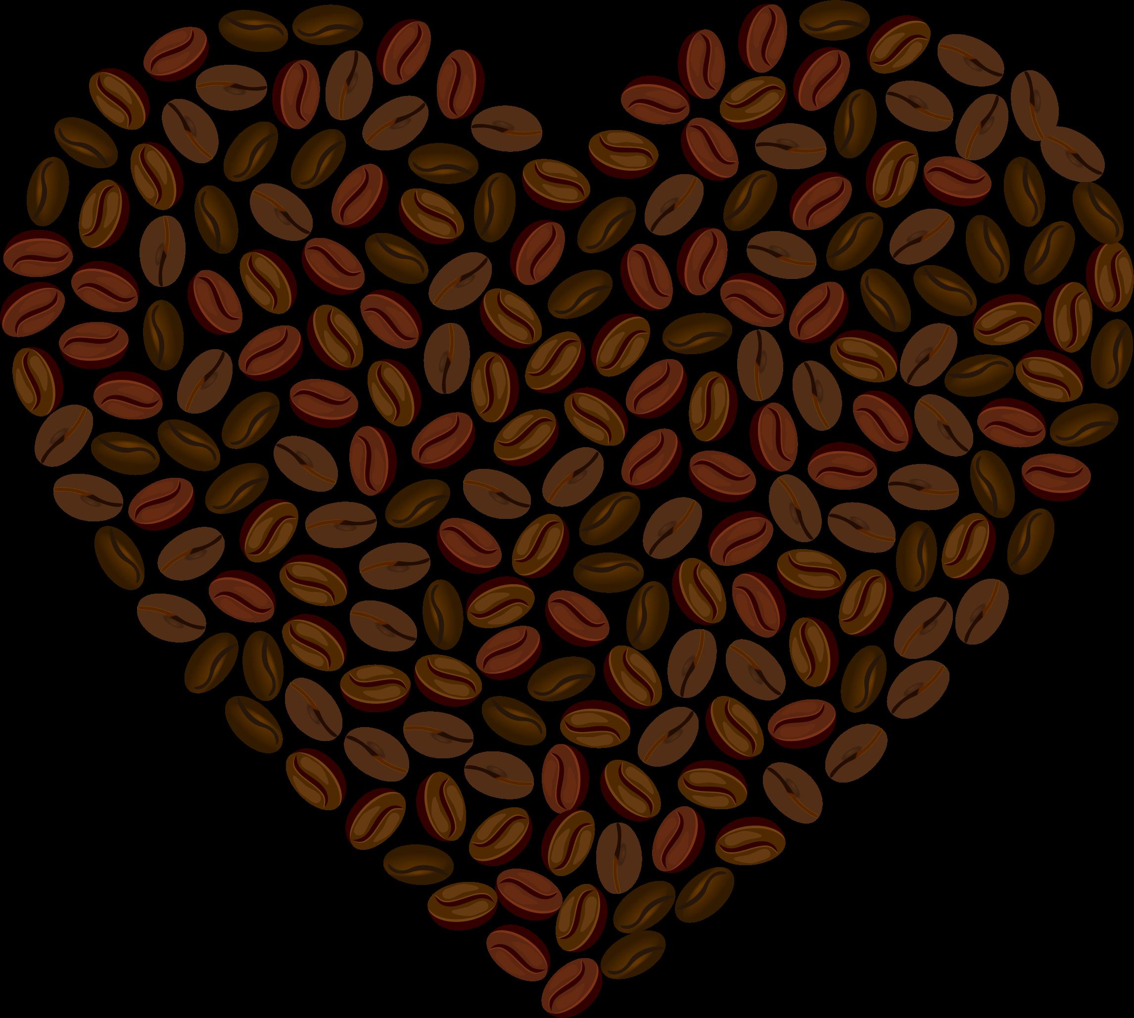 Coffee heart clipart banner transparent Clipart - Coffee Heart banner transparent