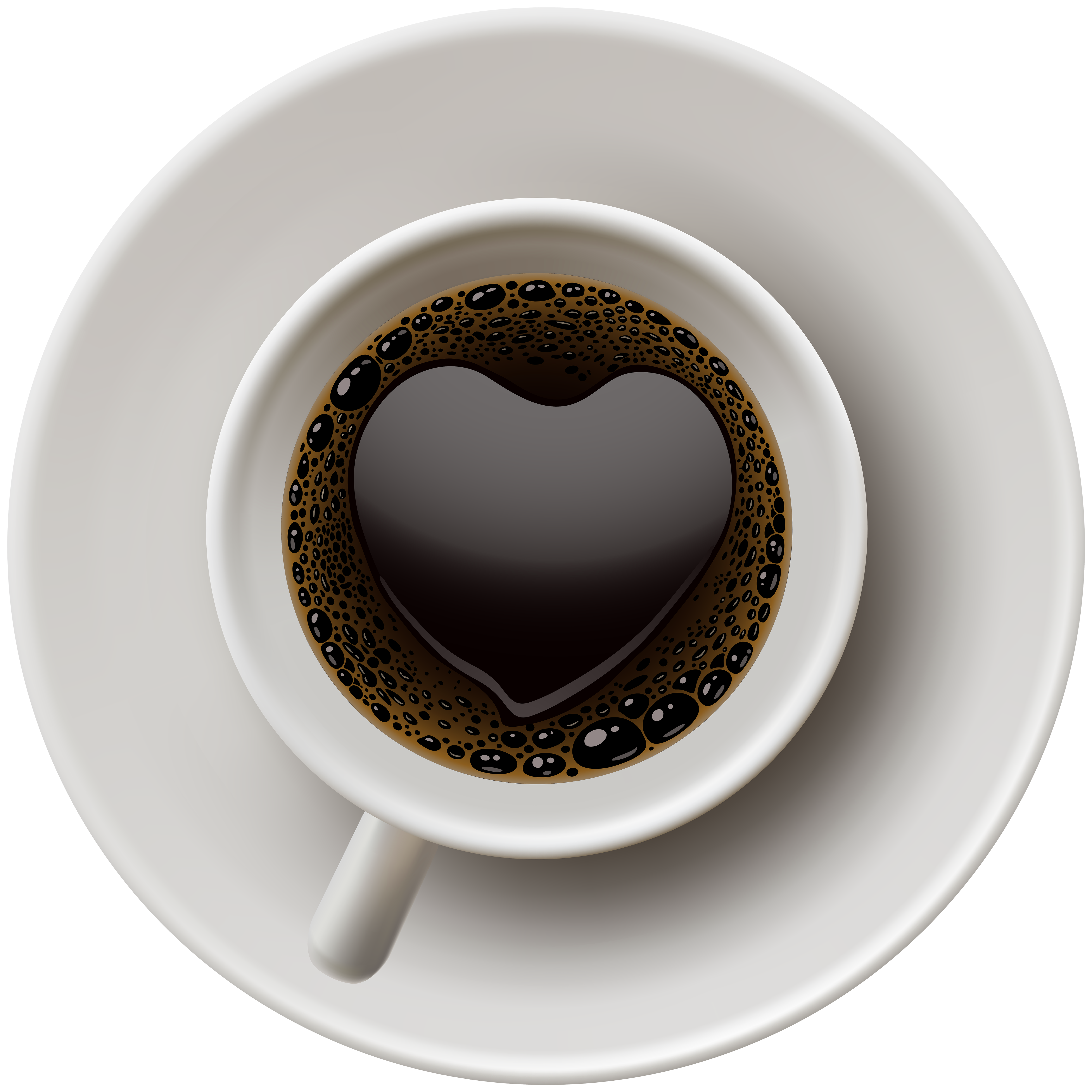 Coffee heart clipart image download Coffee with Heart PNG Clip Art | Gallery Yopriceville - High ... image download