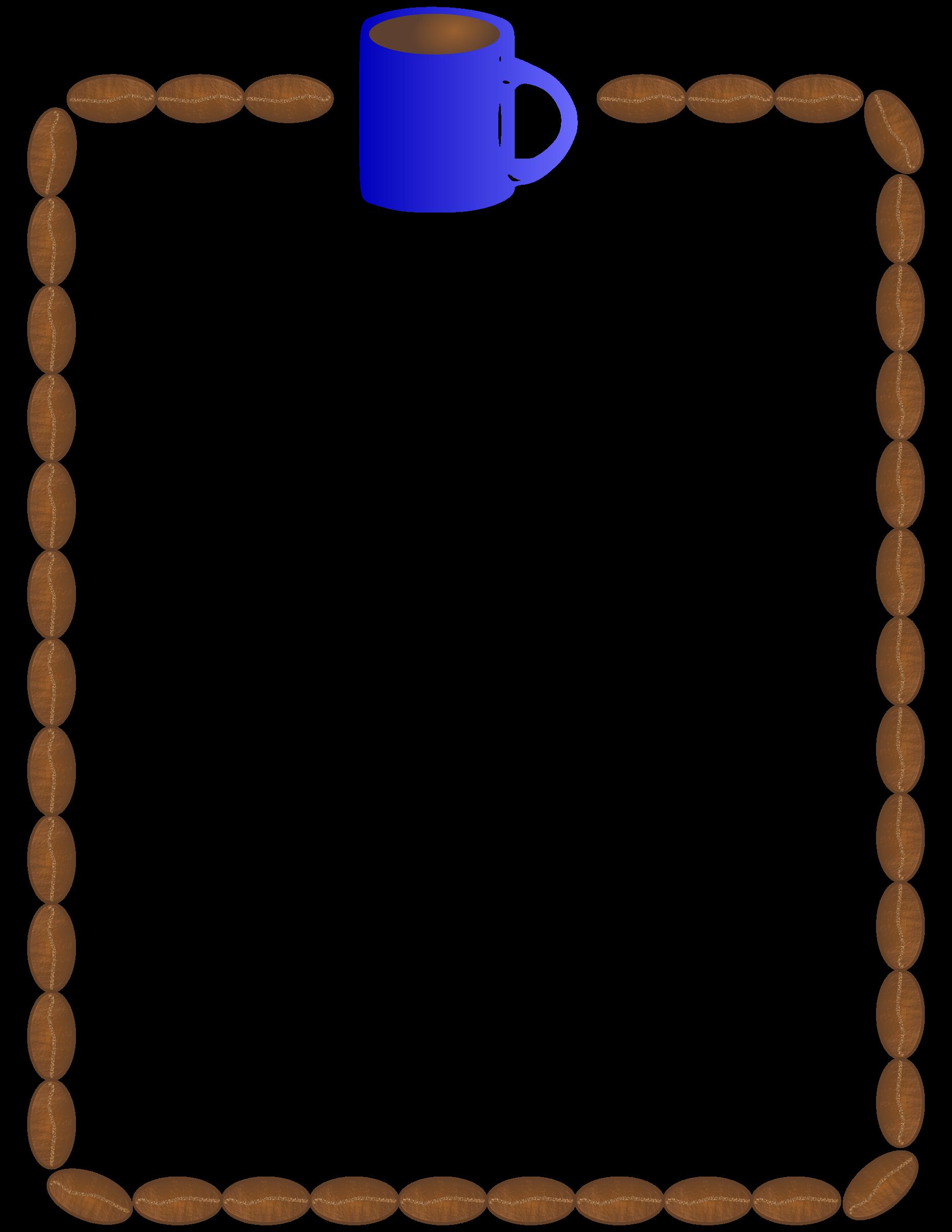 Trendy pumpkin clipart border clip art freeuse Coffee | Clip Art | Pinterest | Coffee and Beans clip art freeuse