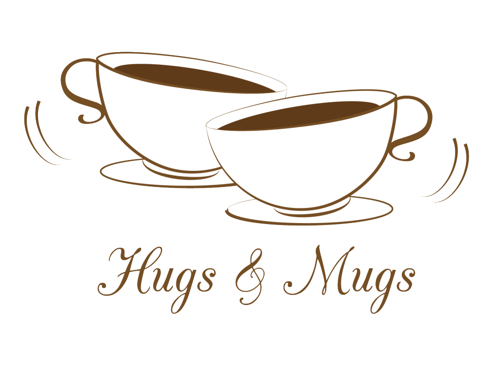 Coffee house clipart svg royalty free stock Hugs and Mugs logo for a coffee shop | mi-designs | Pinterest | Hug ... svg royalty free stock