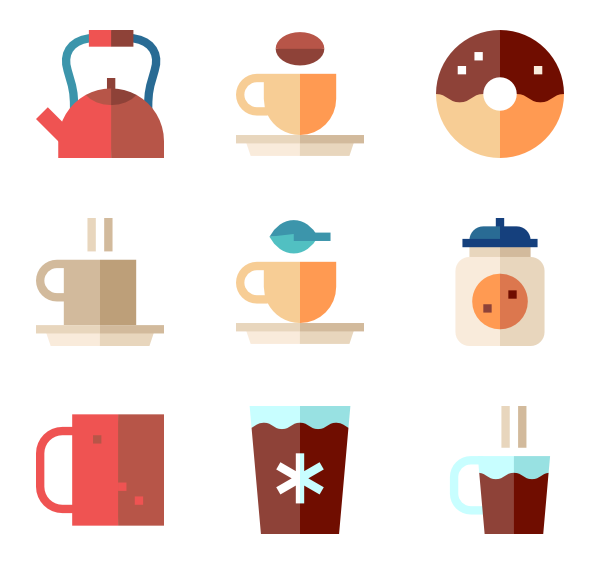 Coffee icon clipart clip freeuse download Coffee cup Icons - 10,307 free vector icons clip freeuse download