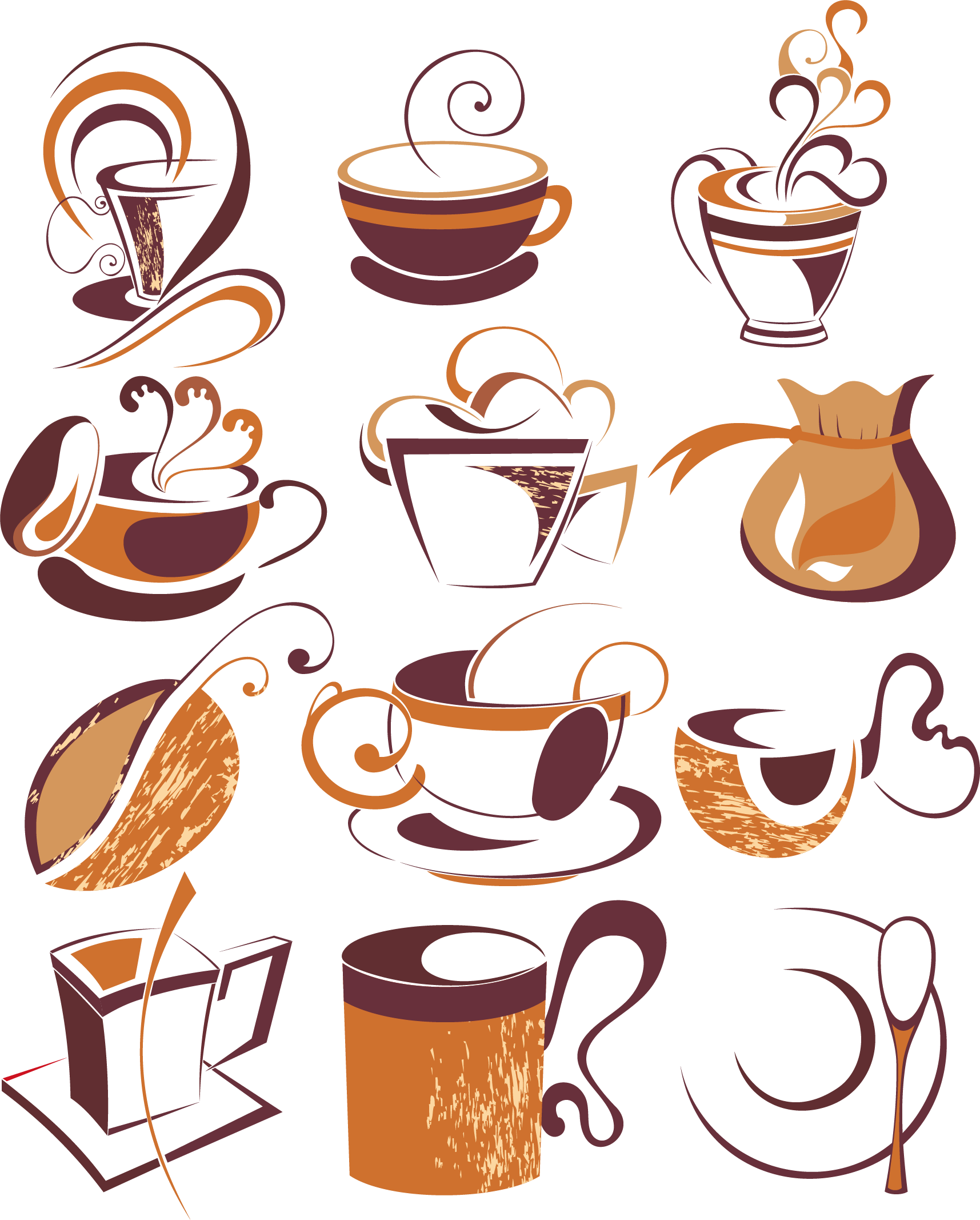 Coffee mug with heart clipart svg royalty free library Turkish coffee Cappuccino Cafe Coffee cup - Artwork coffee element ... svg royalty free library