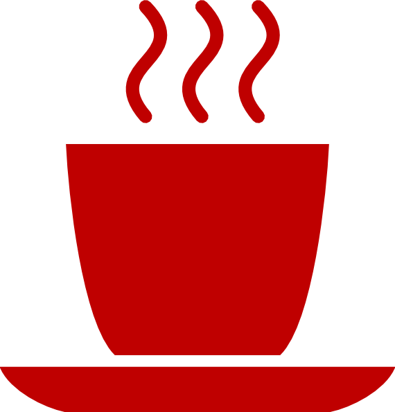 Coffee mug with heart clipart png free library Red Coffee Mug Clip Art at Clker.com - vector clip art online ... png free library