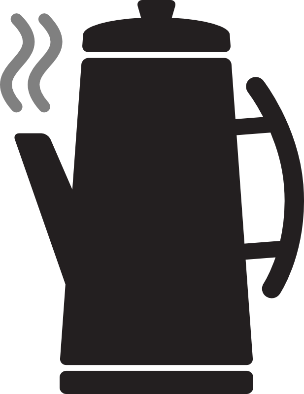 Coffee pot clipart black and white clipart free stock Free Picture Of Coffee Pot, Download Free Clip Art, Free ... clipart free stock
