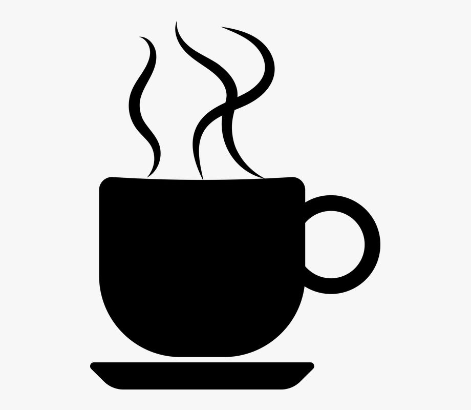 Coffee silhouette clipart picture transparent Cup Of Coffee Silhouette #47017 - Free Cliparts on ClipartWiki picture transparent