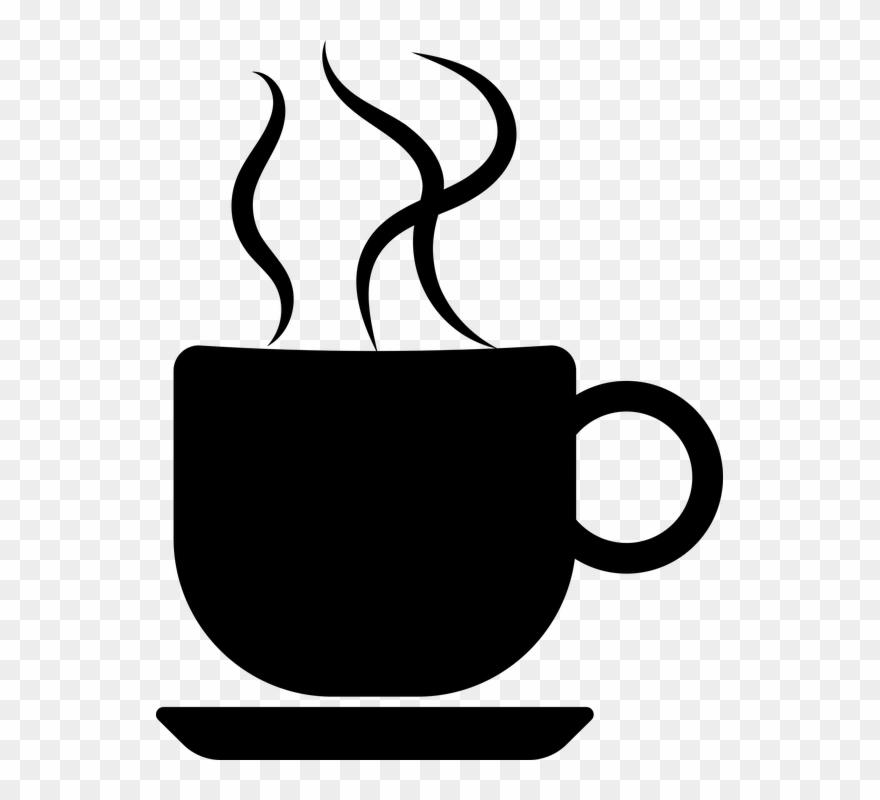 Coffee silhouette clipart svg transparent Coffee Silhouette Coffee Cup Silhouette - Coffee Cup ... svg transparent