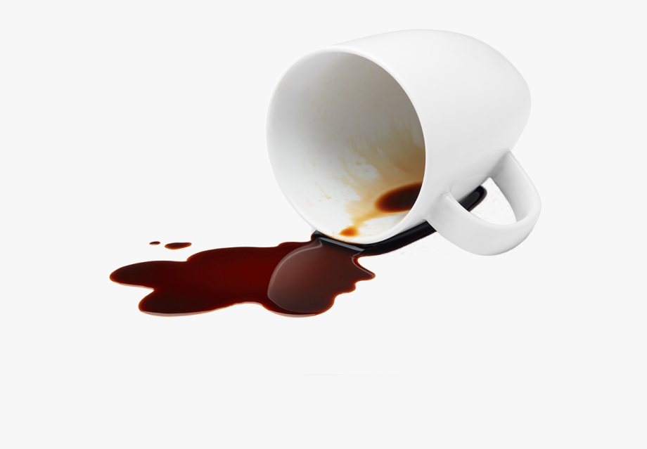 Coffee spill clipart vector free library Spilled Coffee Cup - Spilled Coffee Cup Png #2052673 - Free ... vector free library