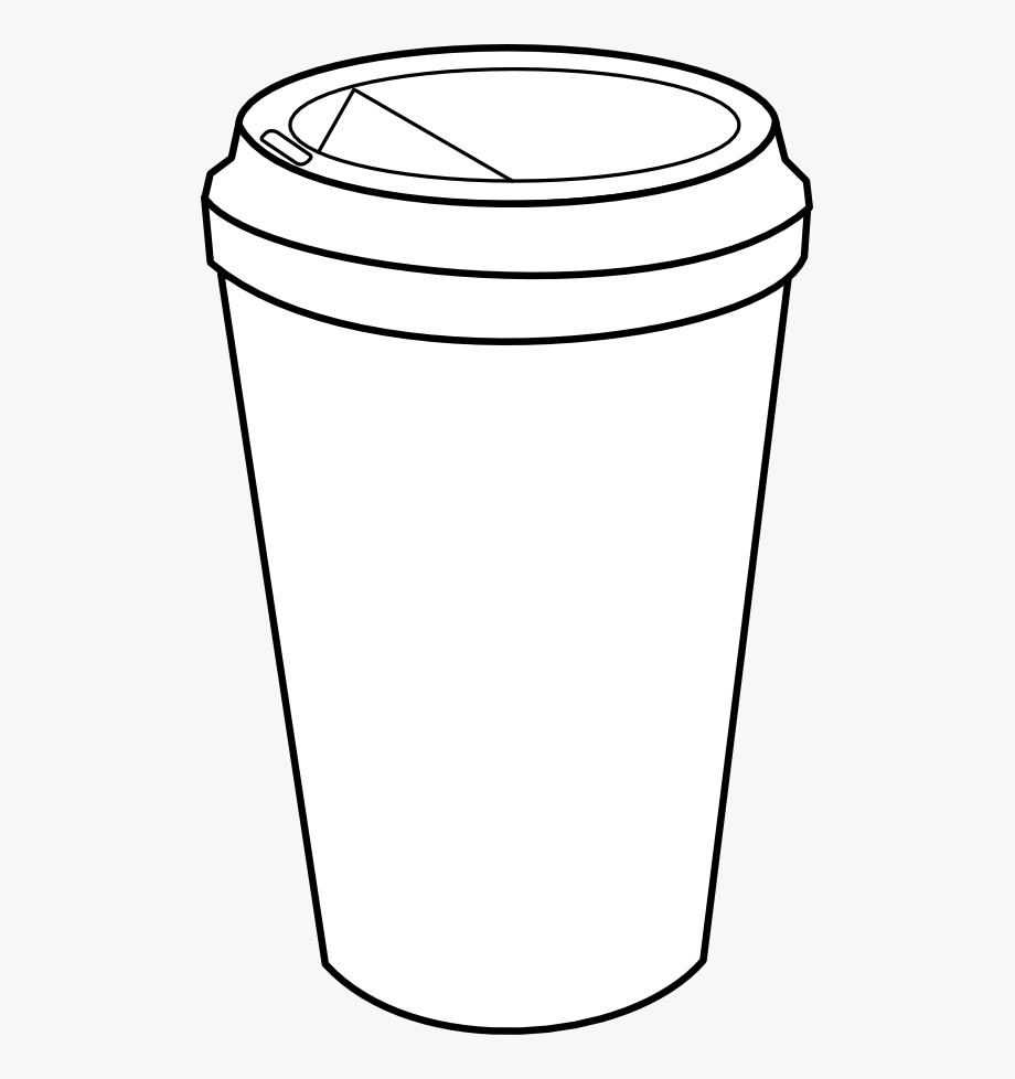 Coffee to go cup clipart black and white svg free stock Coffee Clipart Black And White - Go Cup Of Coffee Drawing #519322 ... svg free stock