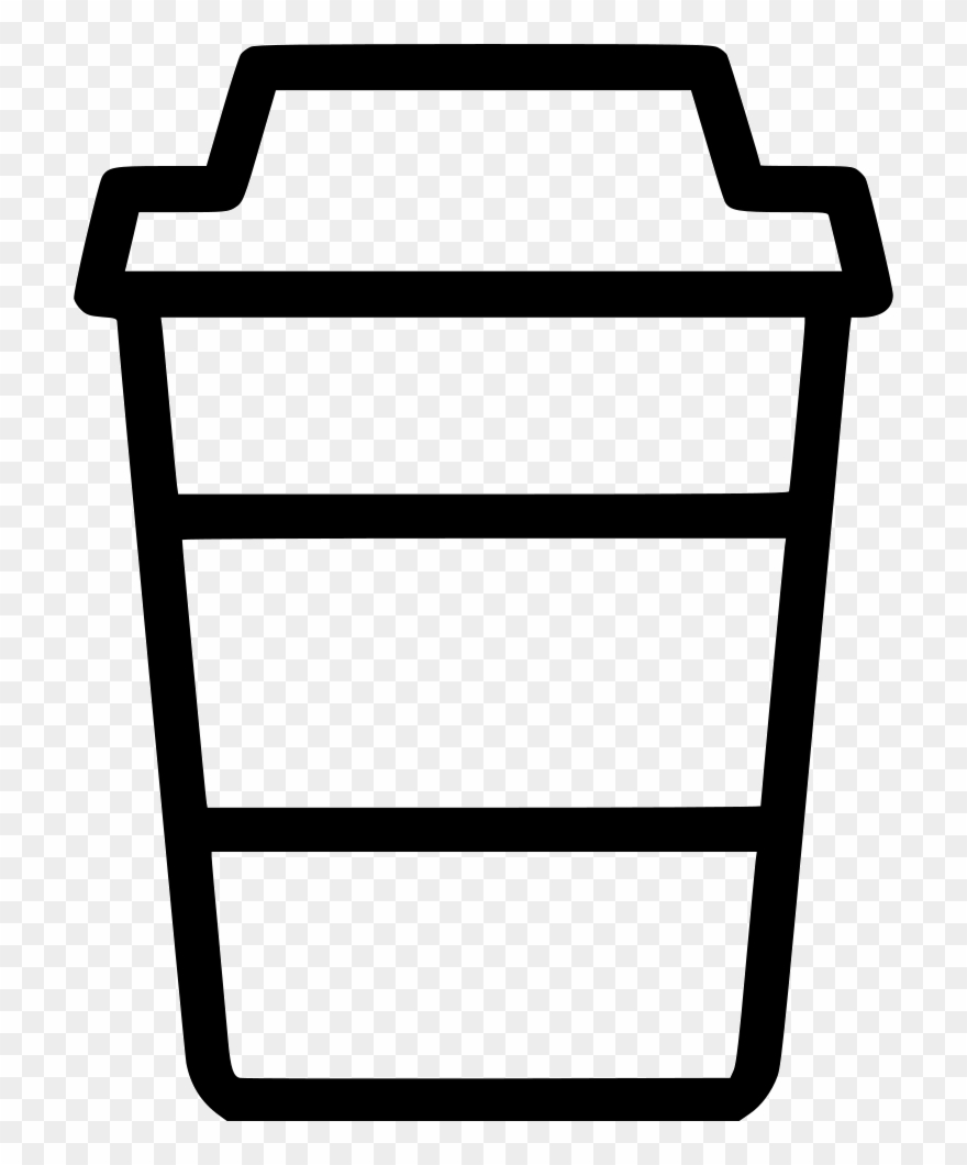 Coffee to go cup clipart black and white clip download Coffee To Go Starbucks Comments - Go Coffee Cup Icon Clipart ... clip download