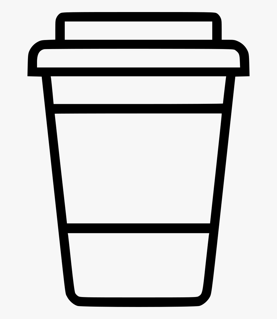 Coffee to go cup clipart black and white image freeuse Coffee Cup To Go Png Icon Free - Free Svg Coffee Cup, Cliparts ... image freeuse