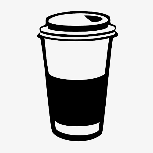 Coffee to go cup clipart black and white black and white Coffee To Go Clipart   Free download best Coffee To Go Clipart on ... black and white
