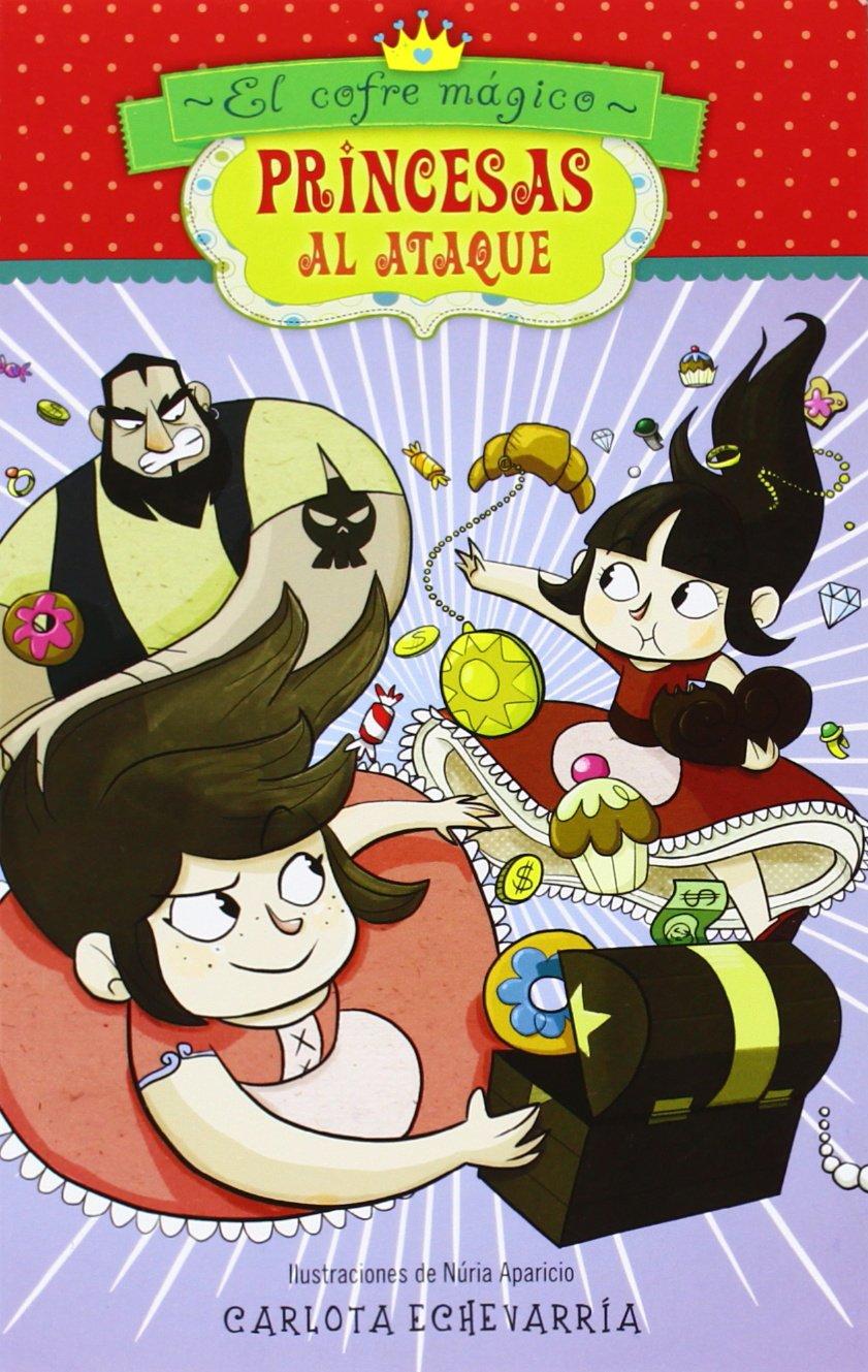 Cofre magico clipart jpg stock Princesas al ataque 1. El cofre mágico: Amazon.co.uk: Carlota ... jpg stock