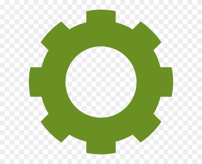 Cog clipart svg stock Gear Olive Cog Clip Art At Clker - Clipart Gear Transparent ... svg stock