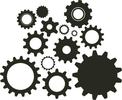 Gears pictures clipart banner transparent gears clipart | DIY Steampunk | cogs | Clip Art~Steampunk ... banner transparent