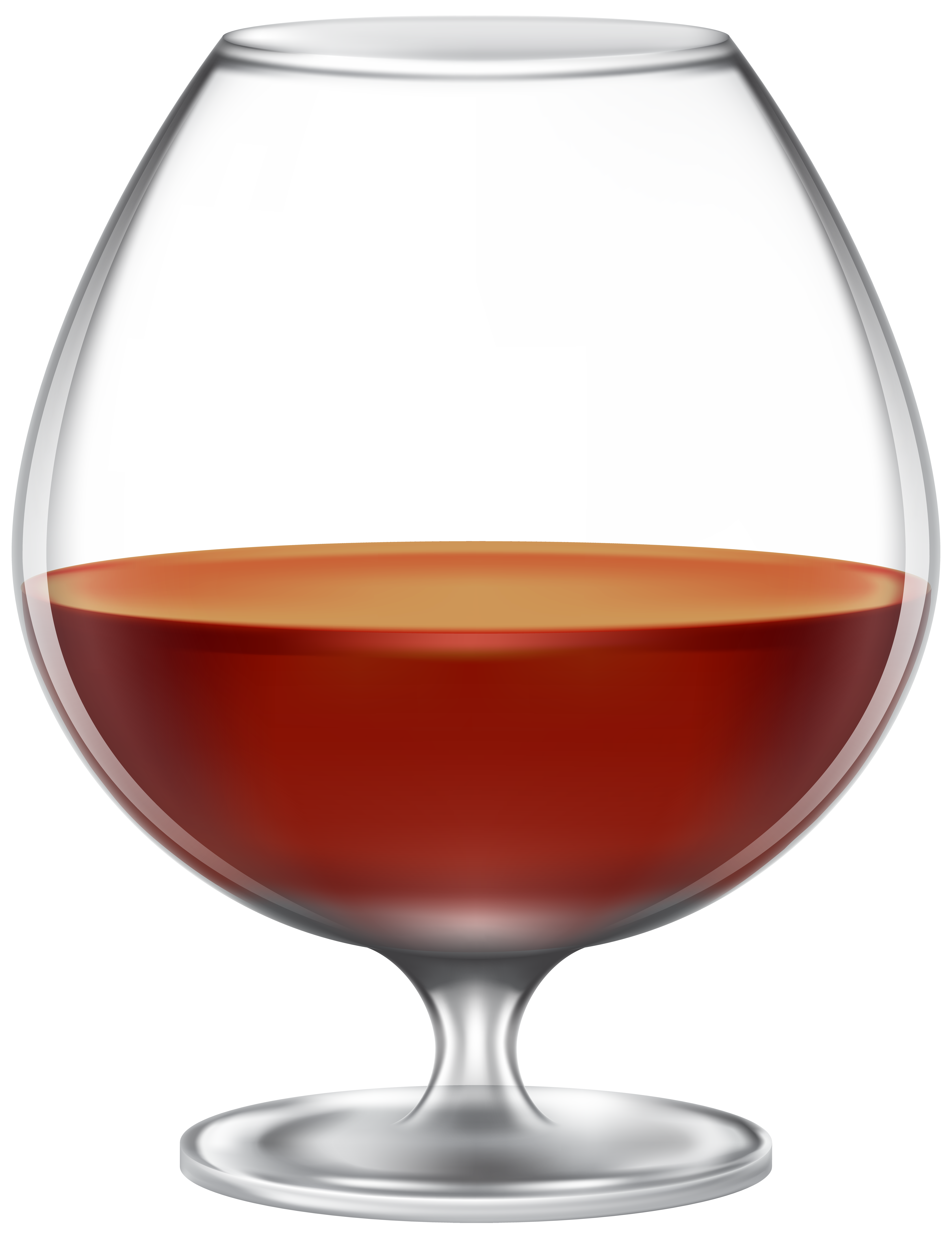 Cognac glass clipart picture freeuse library Brandy Glass PNG Clip Art Image | Gallery Yopriceville - High ... picture freeuse library