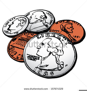 Coin clipart free jpg freeuse library American Coins Clipart   Free Images at Clker.com - vector clip art ... jpg freeuse library
