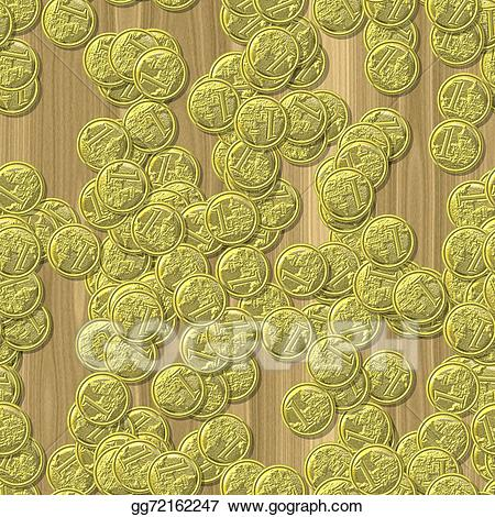 Coin texture clipart image royalty free stock Drawing - Coin seamless generated hires texture background ... image royalty free stock