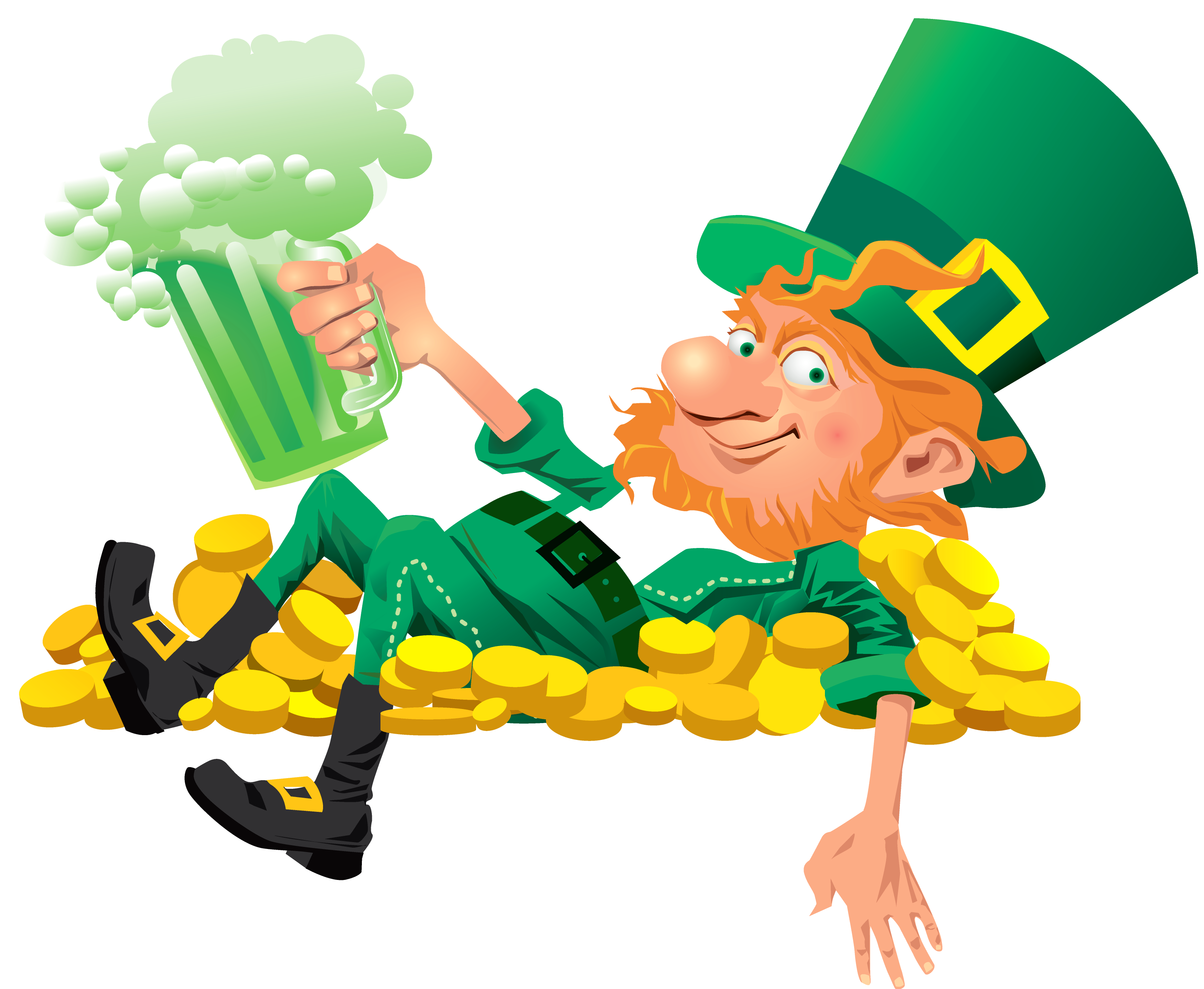 Coinpot clipart jpg transparent library Green beer became an oft seen, over the next fifty years ... jpg transparent library