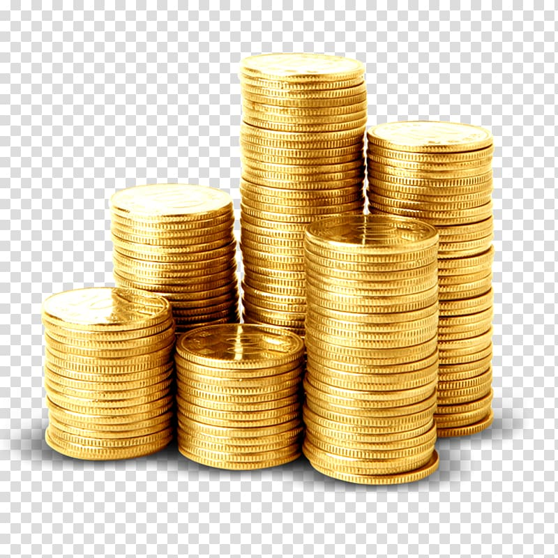 Coins clipart icon png royalty free Stack of gold coins, 2 Colors Money Coin Icon, Pile of gold coins ... png royalty free