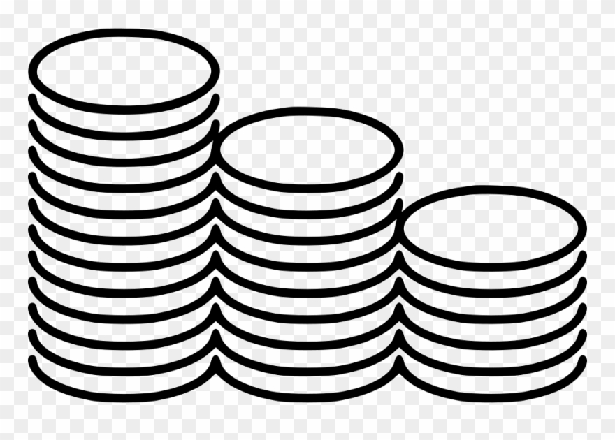 Coins clipart icon clip art free stock Coins Stacks Svg Png Icon Free Download - Coins Png Line Clipart ... clip art free stock