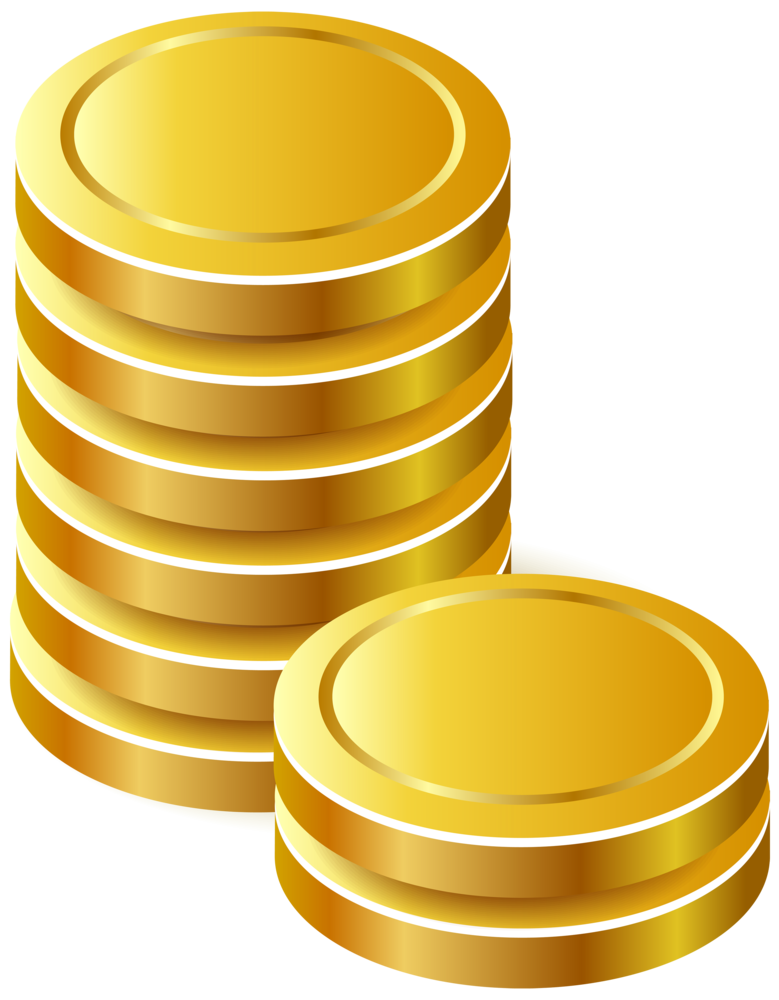 Coins money clipart free download Gold Coins PNG Clipart free download