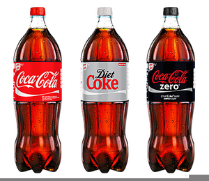 Diet coke clipart
