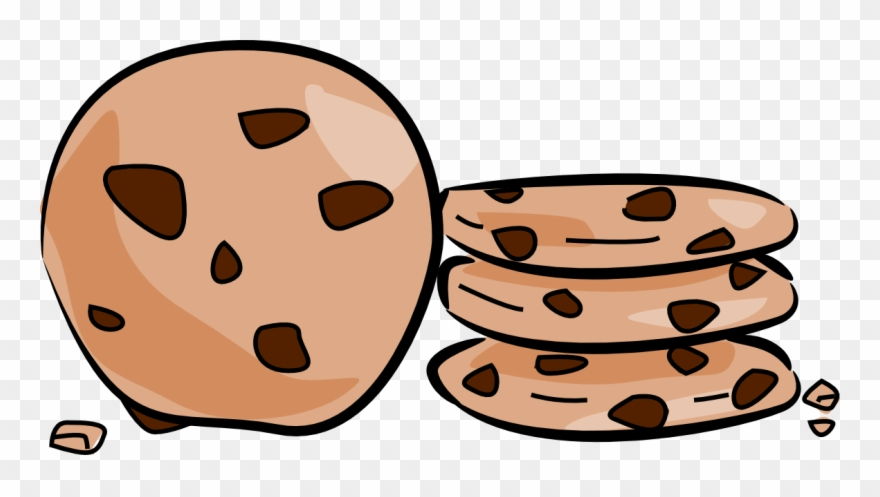 Cookies clipart png jpg stock Cookie Clip Art Clipart Chocolate Chip Cookie Biscuits - Transparent ... jpg stock
