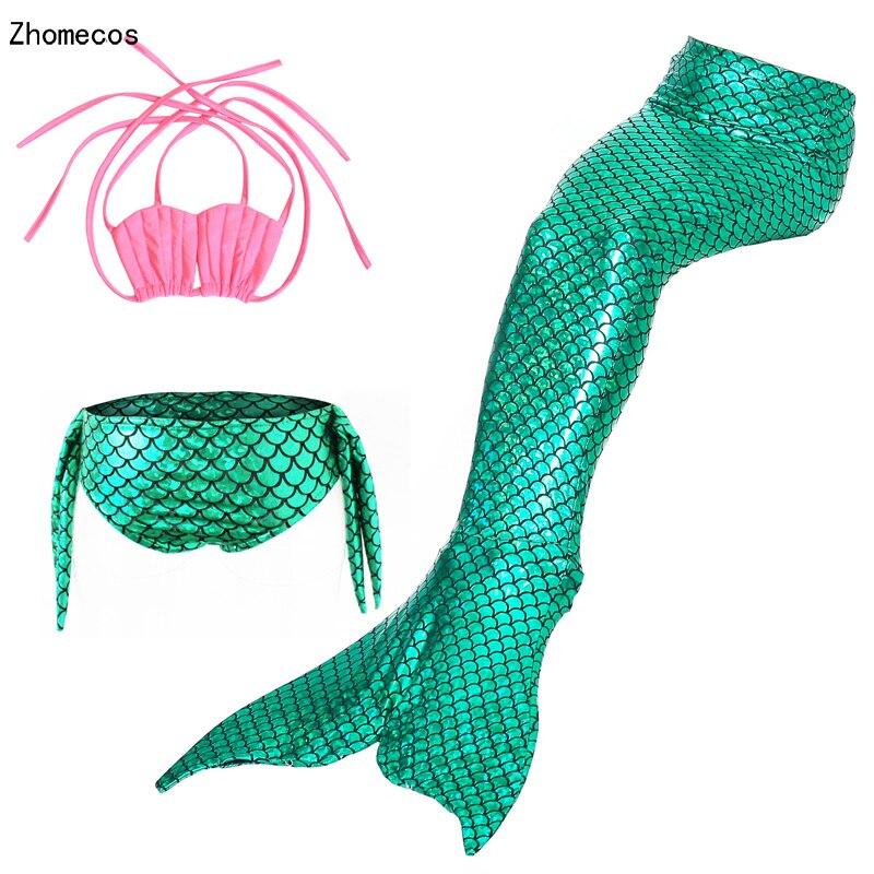 Cola de sirena clipart clip stock US $12.73 33% OFF|Girl Little Mermaid Tails Swimming Costumes For Kid  Swimmable Suit Zeemeerminstaart Cola De Sirena Cauda De Sereia Cosplay-in  Girls ... clip stock
