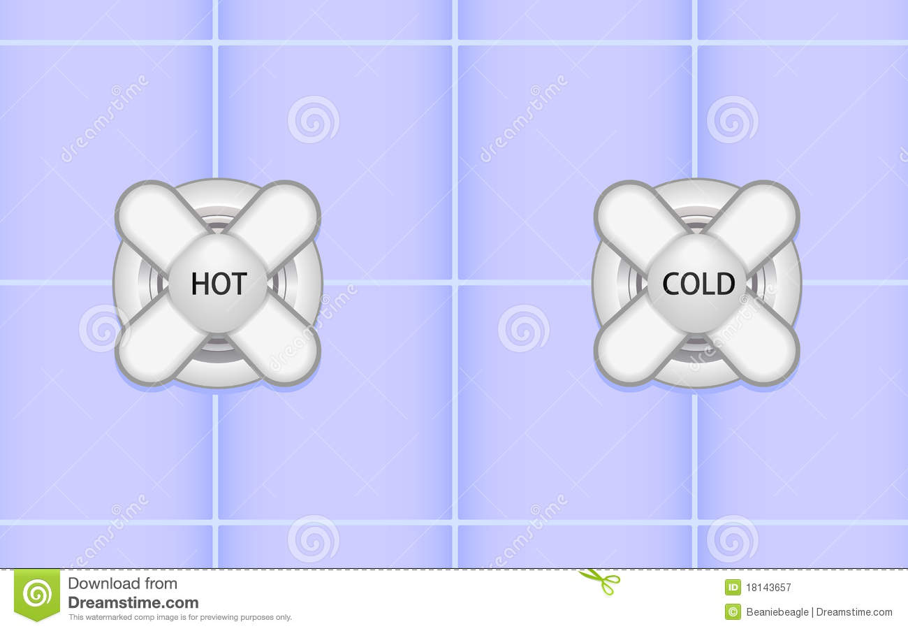 Clipartfest hot and handles. Cold shower clip art