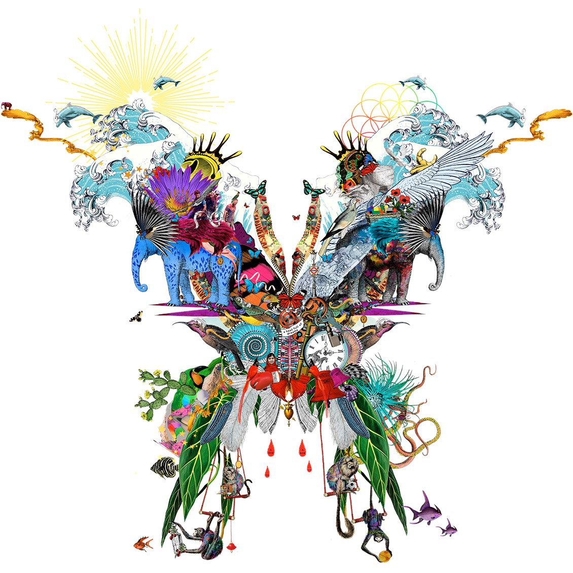 Coldplay a head full of dreams clipart picture free download Coldplay: A Head Full of Dreams picture free download