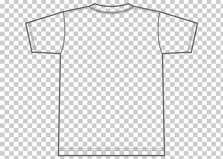 Collar t shirt template clipart png black and white stock T-shirt Template White Sleeve PNG, Clipart, Angle, Black, Brand ... png black and white stock