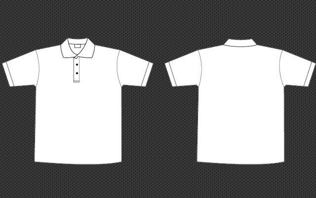 Collar t shirt template clipart clip free library Polo Collar Tee Template - #Collar, #Men, #Pdf, #PoloCollar ... clip free library