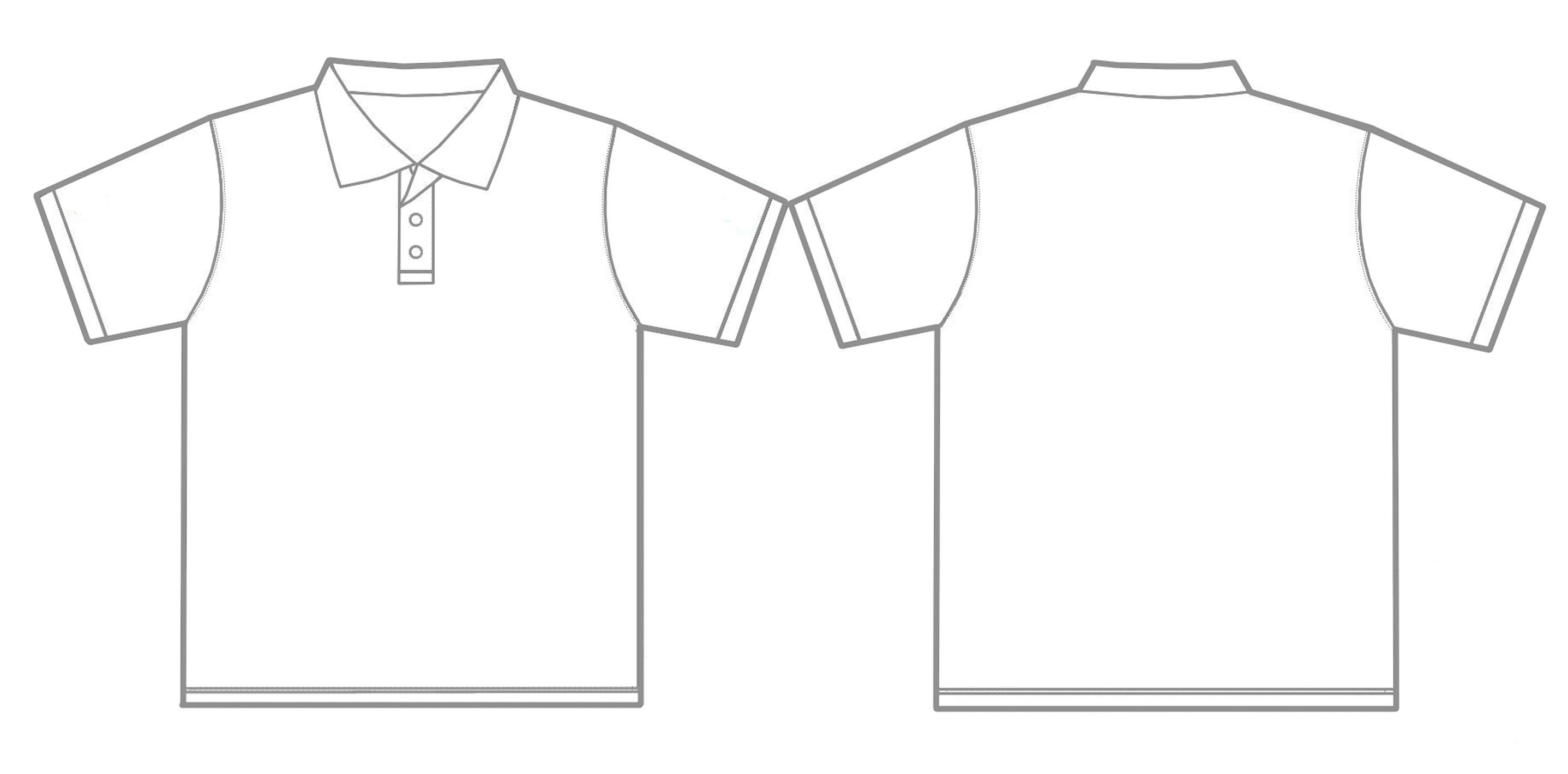 Collar t shirt template clipart svg royalty free stock Free T-shirt Template, Download Free Clip Art, Free Clip Art on ... svg royalty free stock